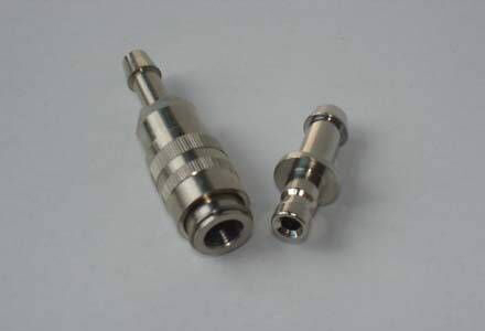 NIBP cuff air hose the metal female and male bayonet connector,